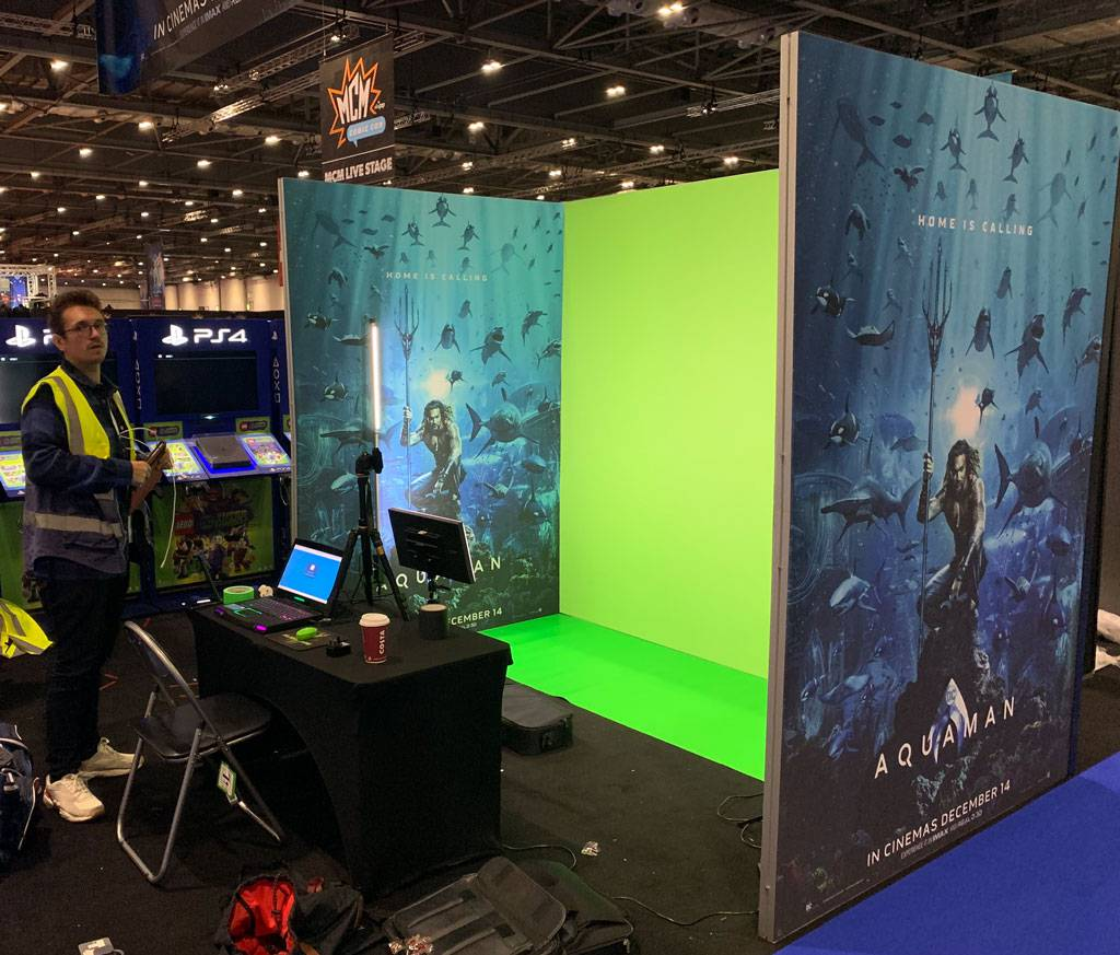 Aquaman Green Screen Video