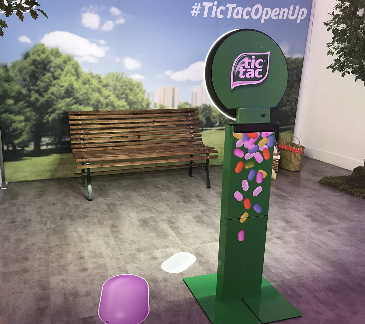 Gif Booth for TicTac